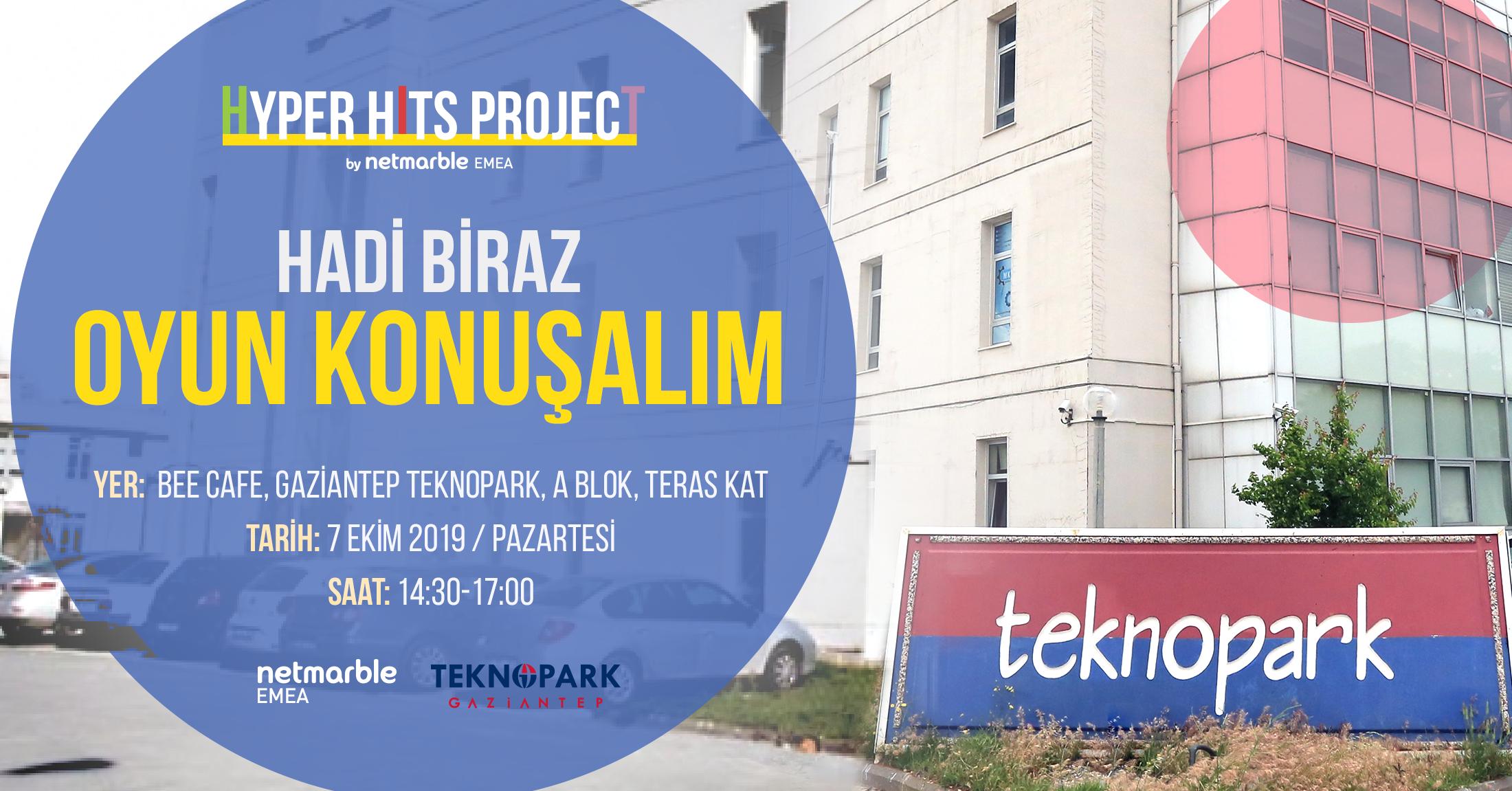 Netmarble Hyper Hits Project toplantısı Gaziantep Teknopark'ta!