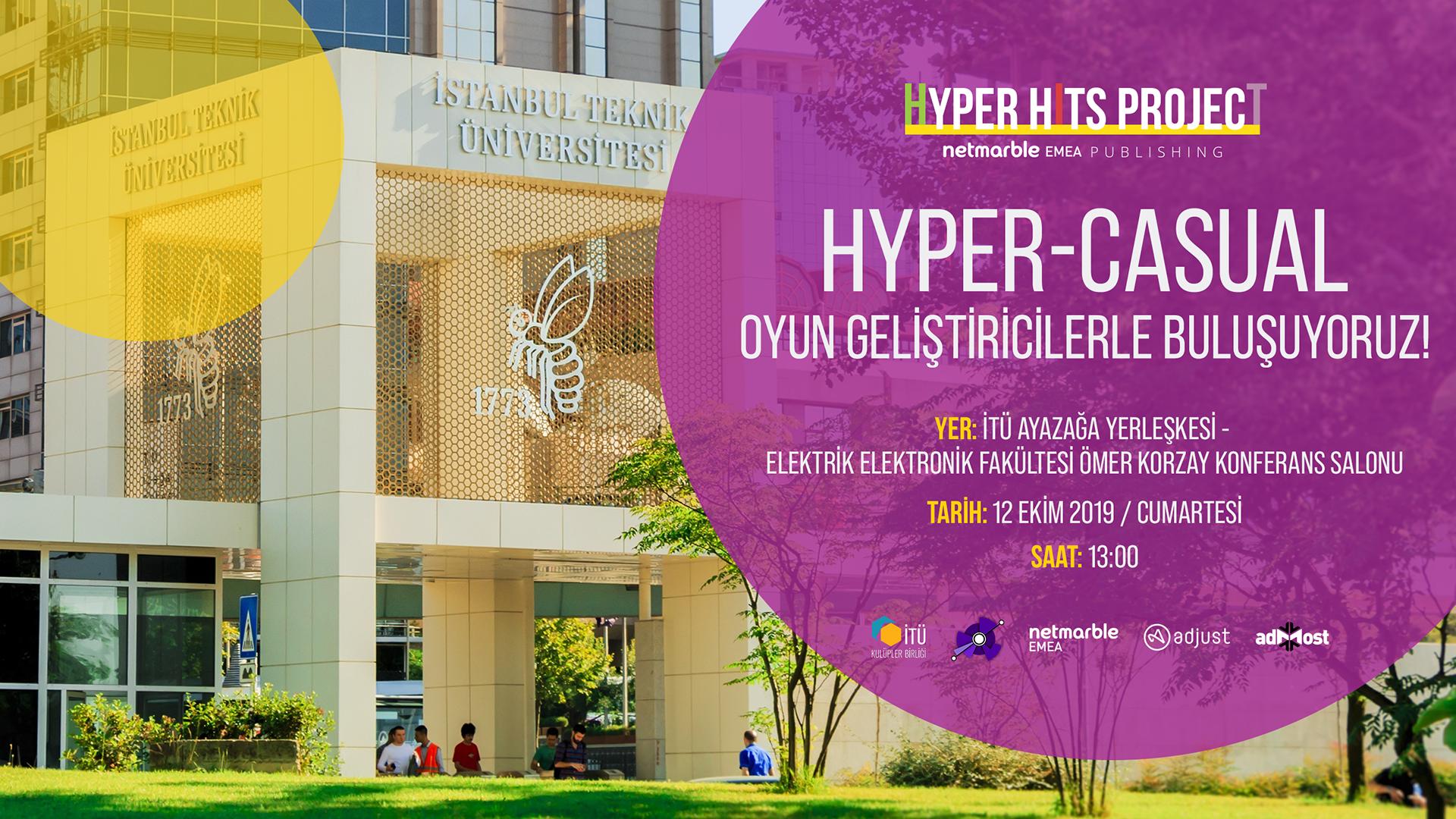 Netmarble Hyper Hits Project toplantısı İTÜ ARI Teknokent'te!