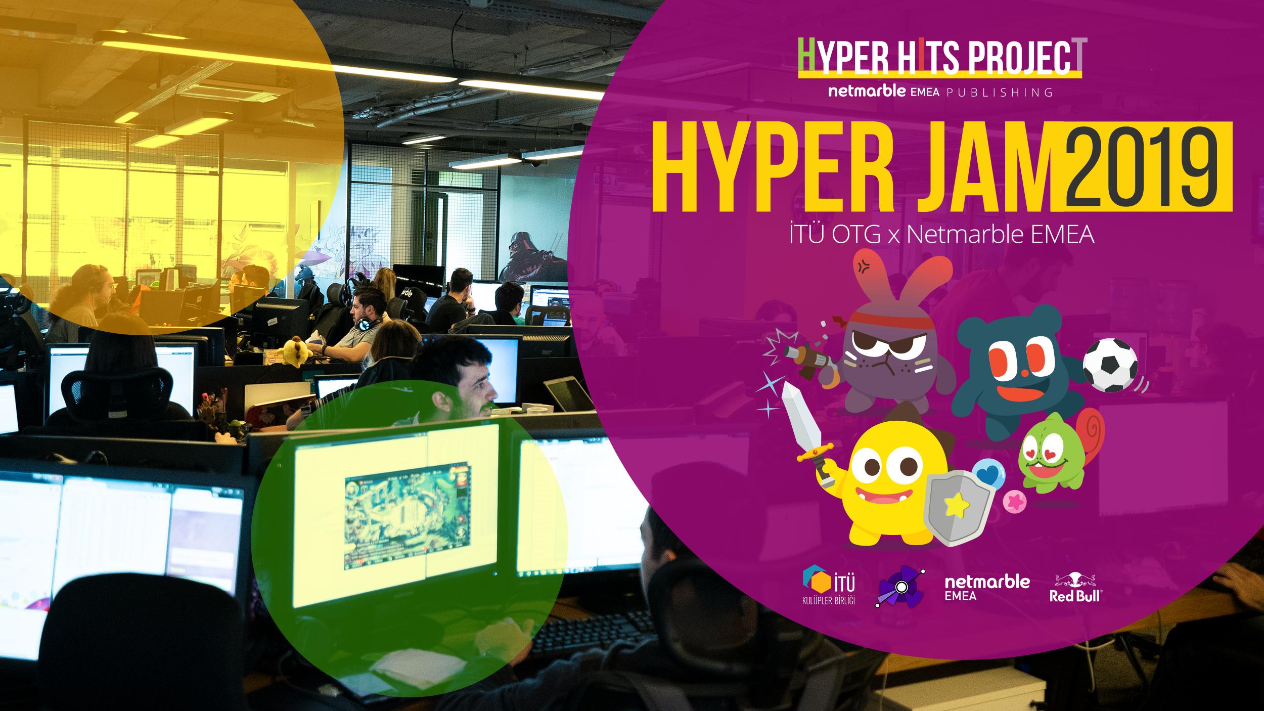 Hyper-casual oyun geliştirme maratonu Hyper Jam başlıyor